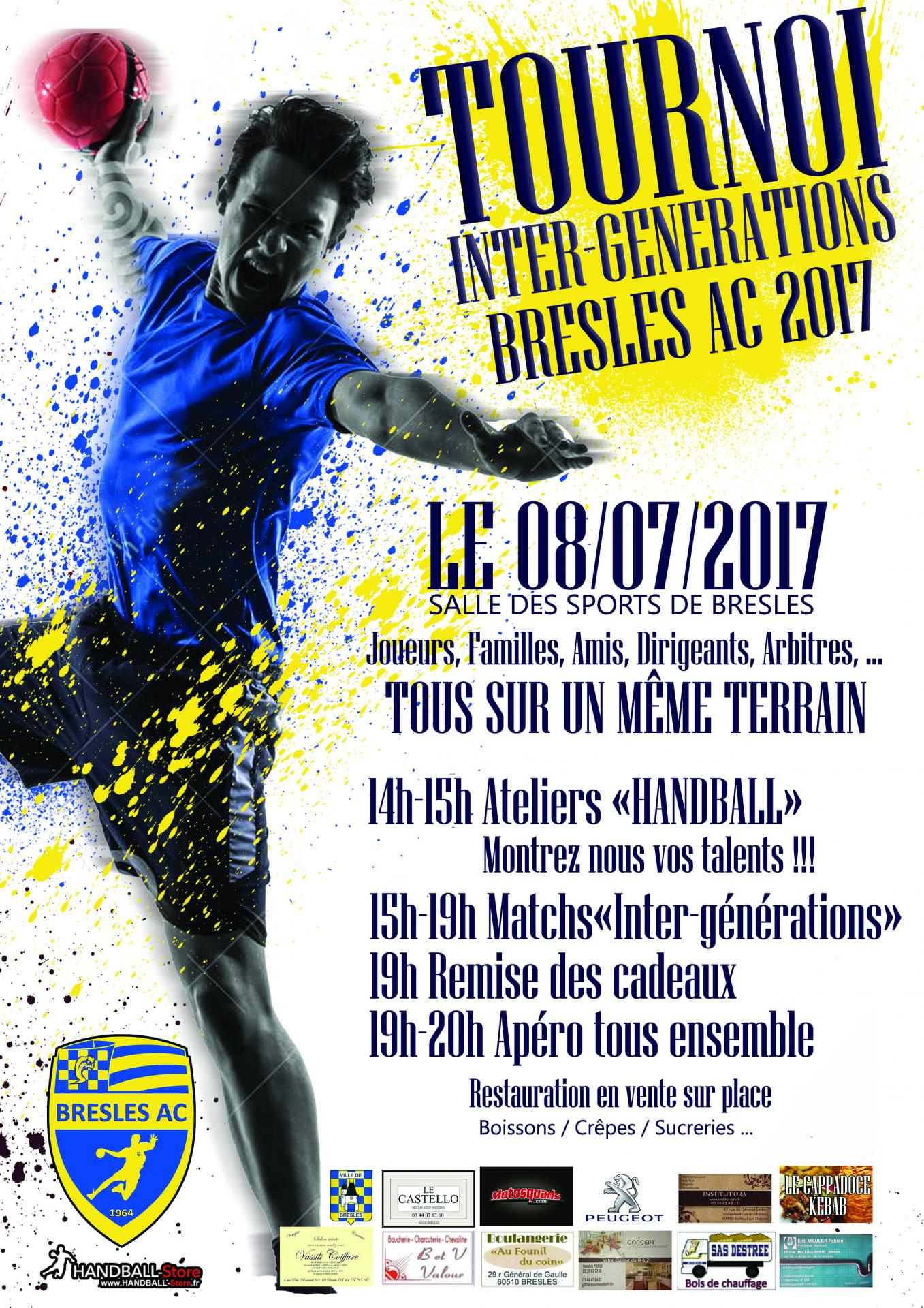 Tournoi intergenerations 2017